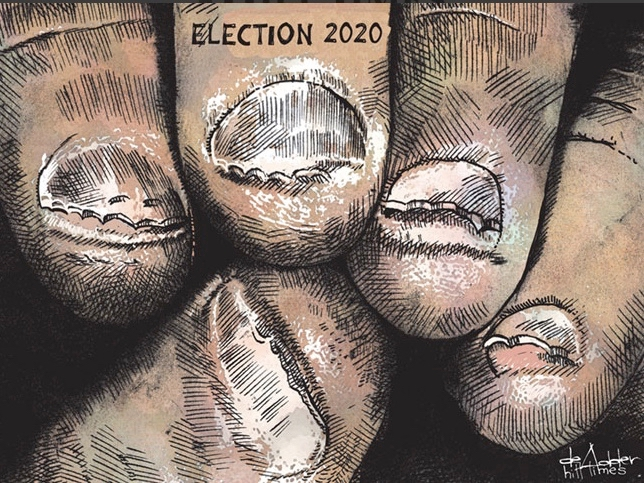 Editorial cartoonists - Michael de Adder