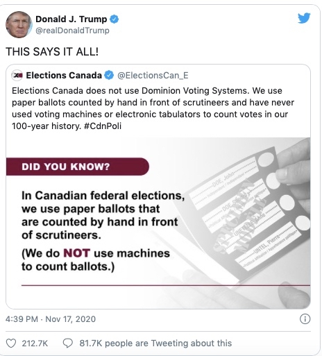 Elections Canada tries to fight misinformation