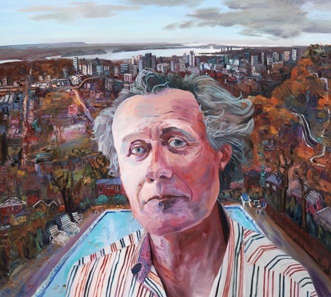David Macfarlane painted by John Hartman